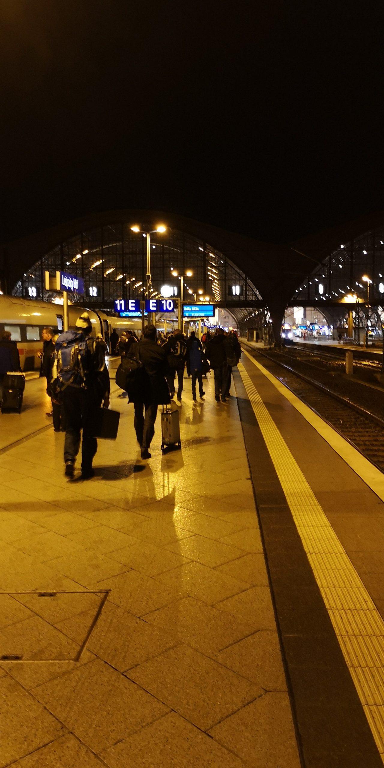 Morgens in der S-Bahn