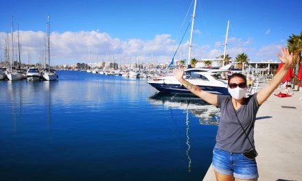 Unser Törn von Palma nach Faro in Bildern