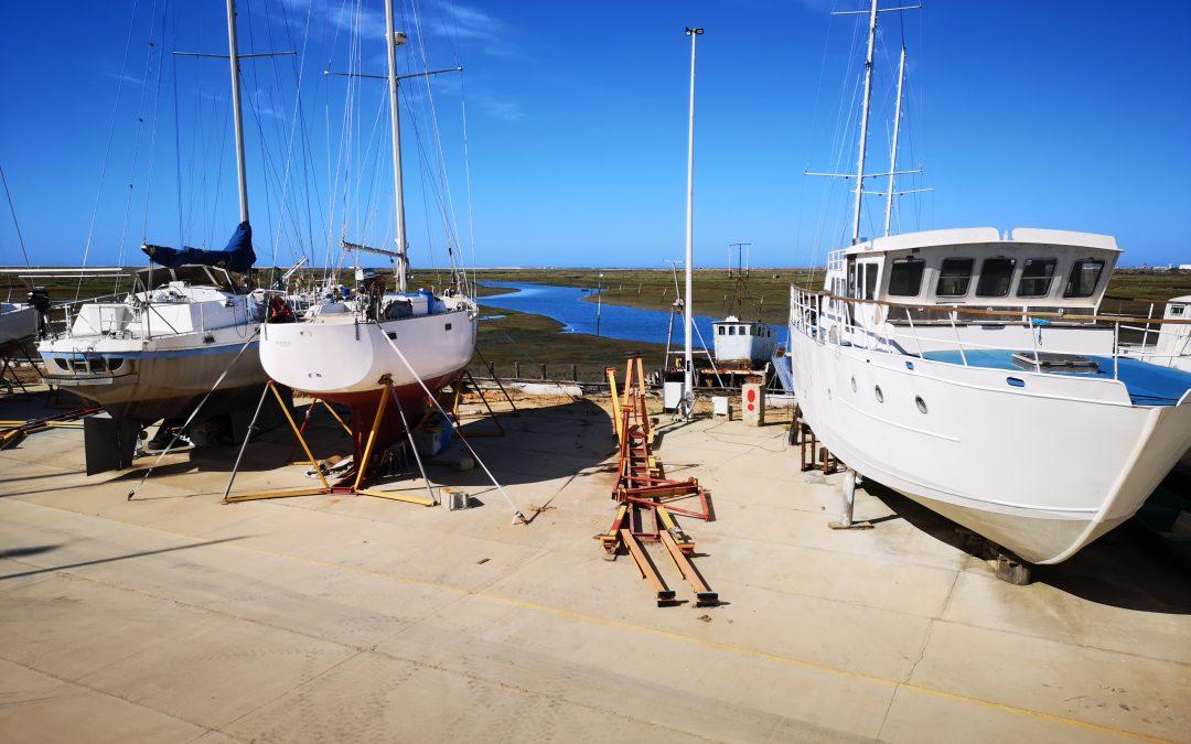 Das Bootshandwerk hat uns wieder